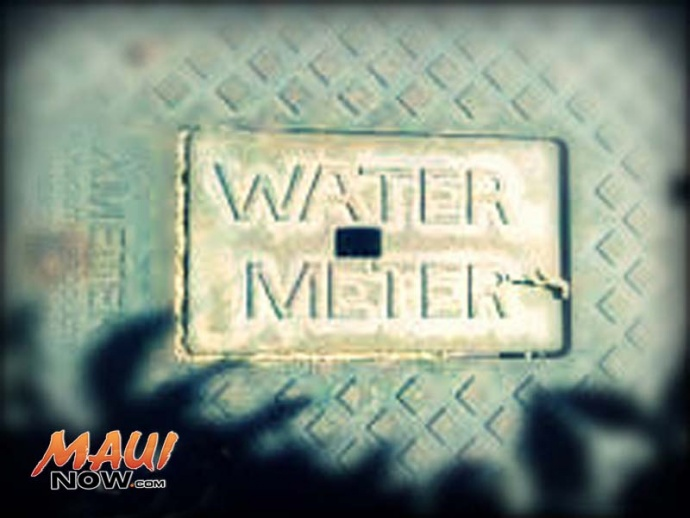 Water meter. File photo by Wendy Osher.