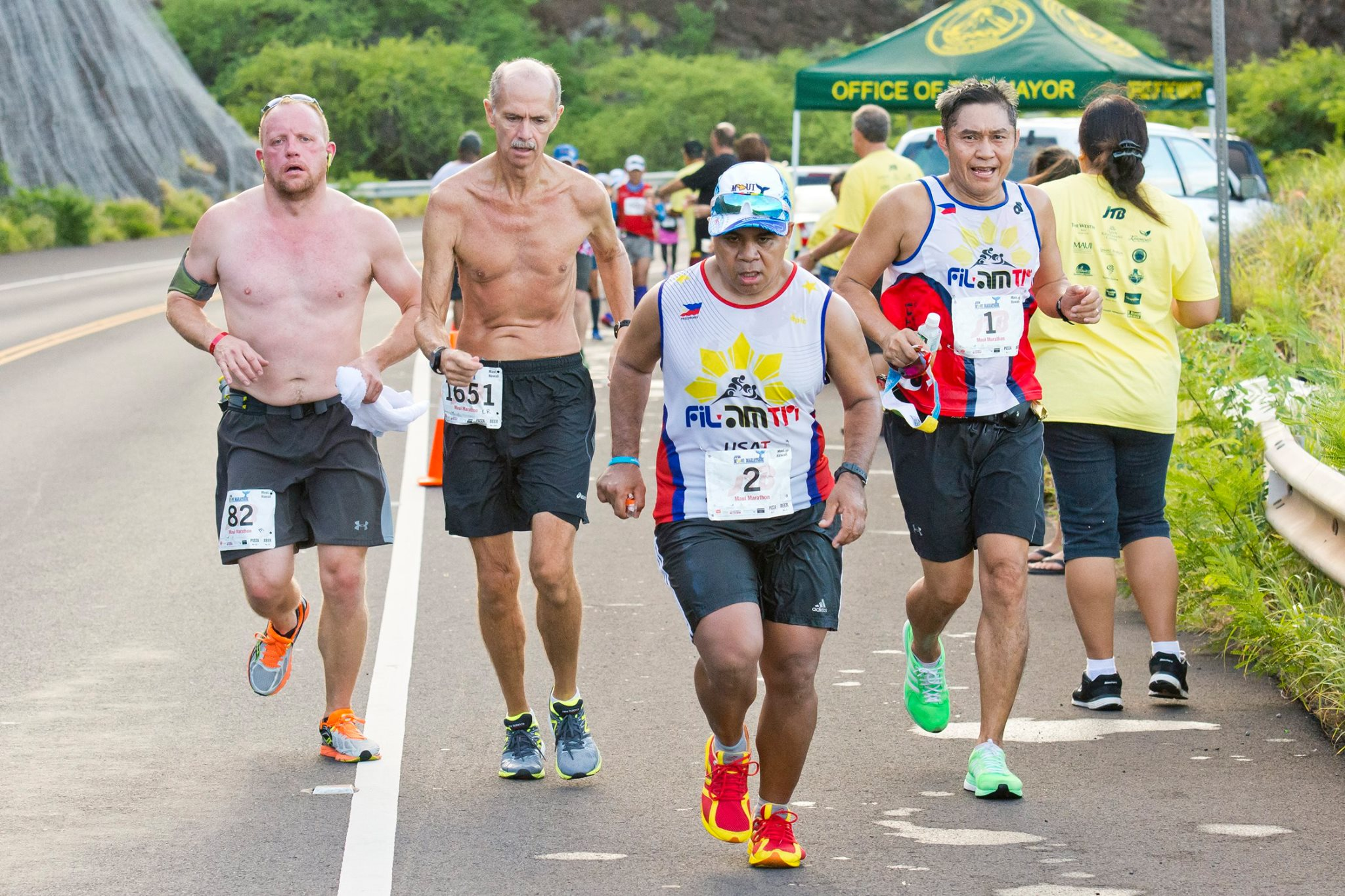 Maui Marathon Road Closures and Traffic Delays, Oct. 14