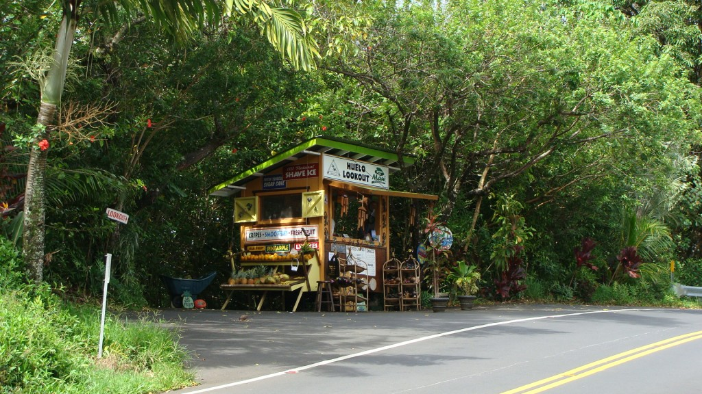 Huelo roadside stand. Photo by Wendy Osher.