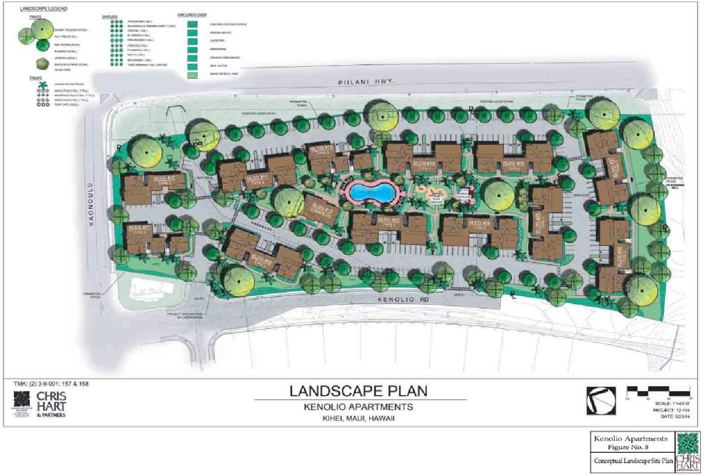 Kenolio landscape plan. Image credit: Chris Hart & Partners via Office of Council Services.