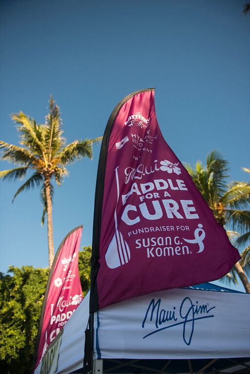 Paddle for a cure. File photo 2014. Image courtesy: Tegan Kopilenko.