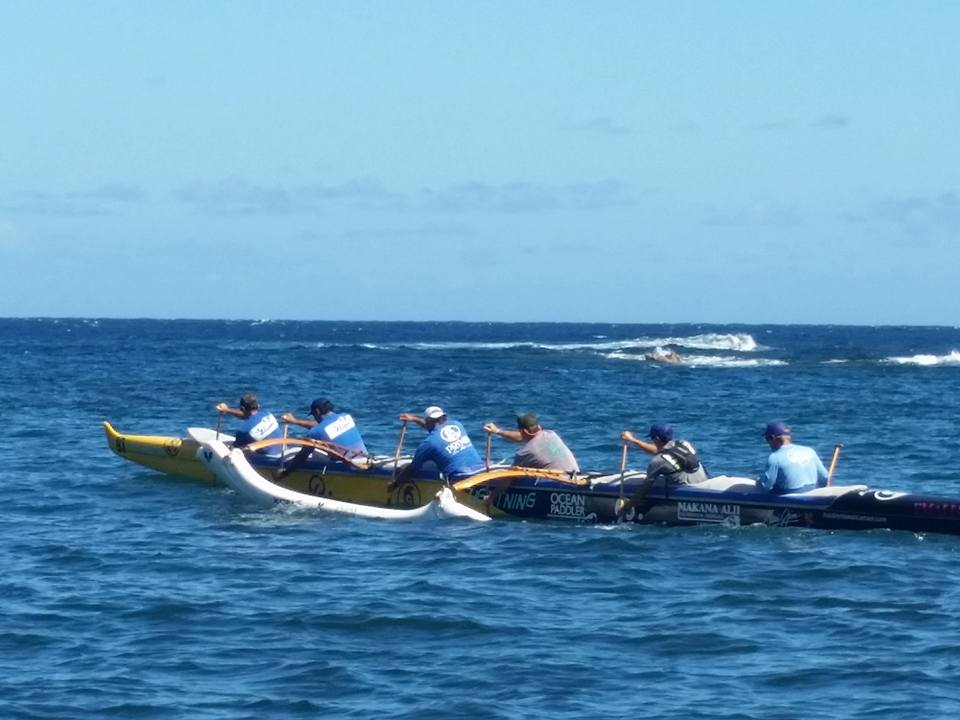 Primo 2 crew. 2015 Maui Nui Canoe Race. Courtesy photo.