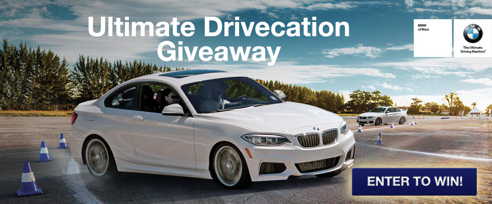 BMW Drivecation Giveaway.