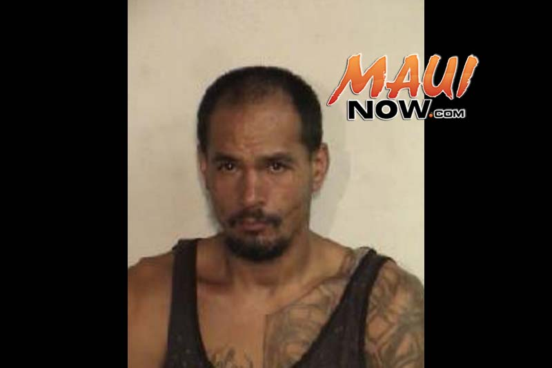 Keola Vasconcellos. Photo credit: Maui Police Department.