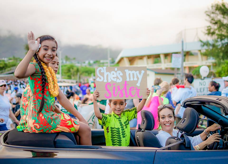 Maui Fair Parade 2015. Photo credit: Aimee Lemieux.