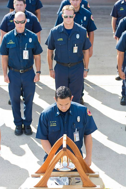 MFD 9/11 Memorial Ceremony at the Kahului Fire Station. Photo credit: County of Maui.