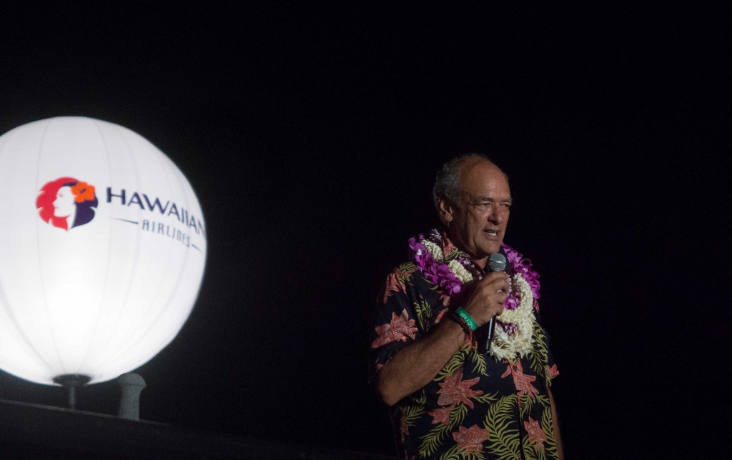 To celebrate his life and achievements, the Festival honored Shep Gordon with a six-course dinner created by six of his chef friends at the Hyatt Regency Maui Resort and Spa. Photo credit: Greg Poulos.