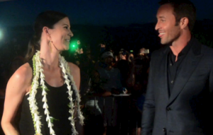Maui Now's Malika Dudley interviews Hawaii Five-0's Alex O'Loughlin at the red carpet premiere for Season 6