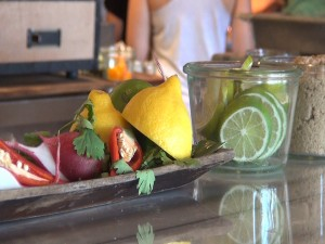 Ingredients for Ka'ana Kupboard Cooking Class at Andaz Wailea Resort. Photo by Kiaora Bohlool.