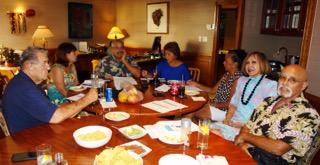2015 BizFest planning committee: (left to right) Ron Vaught, Teri Freitas Gorman, Kai Pelayo, Doreen Pua Canto, Shirley Blackburn, Johanna Amorin and Paul Laub. MNHCoC photo.