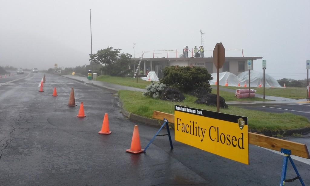 Haleakalā National Park construction. Courtesy photo.