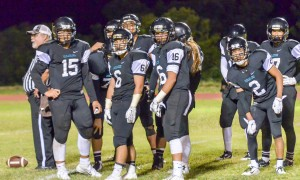 King Kekaulike's defense has all eyes on its coordinator and head coach Kyle Sanches . Photo by Rodney S. Yap.