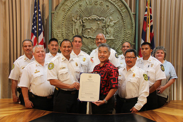 Fire Prevention Week 2015. Photo credit: State of Hawaiʻi, Office of the Governor.