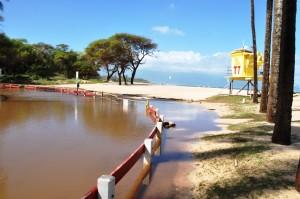 Baldwin Beach Park flooding, Oct. 28, 2015. Photo credit: County of Maui.