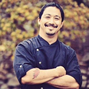 Chef Lyndon Honda, taking part in the 2015 Noble Chef benefit gala for MCA. Photo courtesy of Noble Chef.