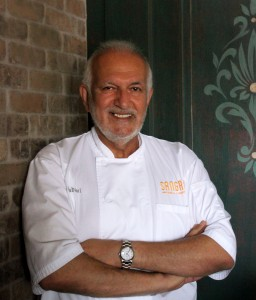 Chef Paris Nabavi, taking part in the 2015 Noble Chef benefit gala for MCA.  Photo courtesy of Noble Chef.
