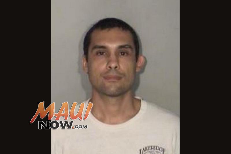 Cristian Maggio. Photo credit: Maui Police Department.