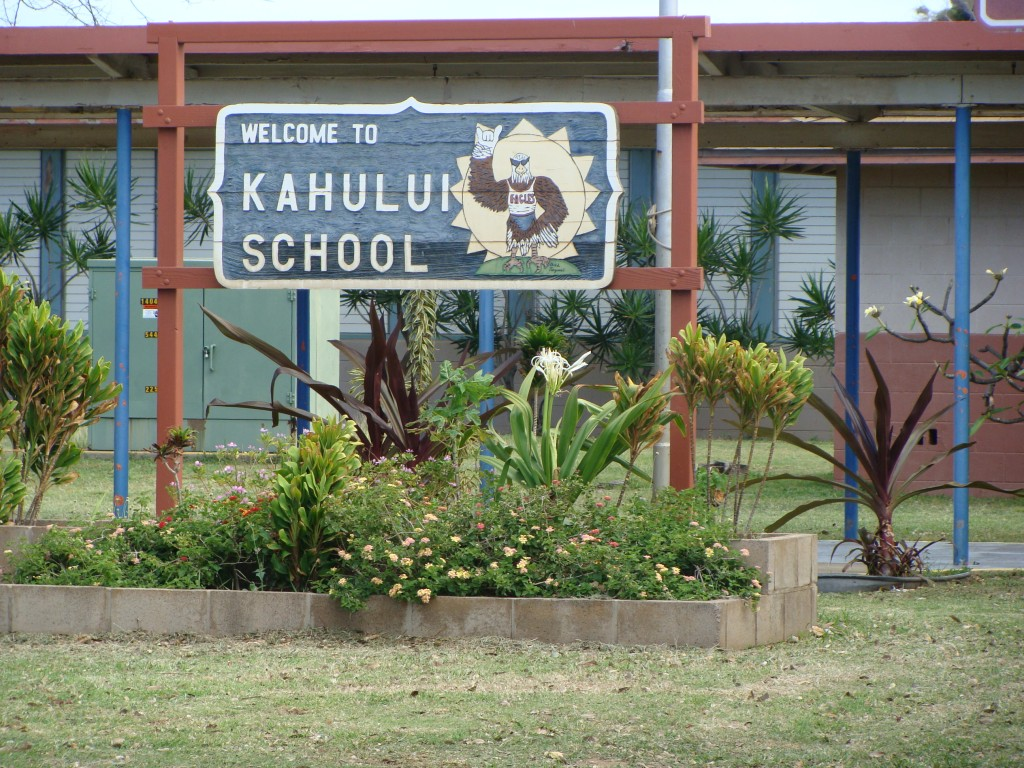 Kahului Elementary School. File photo by Wendy Osher.