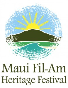Logo for the Maui Fil-Am Heritage Festival® on Saturday, October 17 at Maui Mall. Logo courtesy of Maui Fil-Am Heritage Festival®.