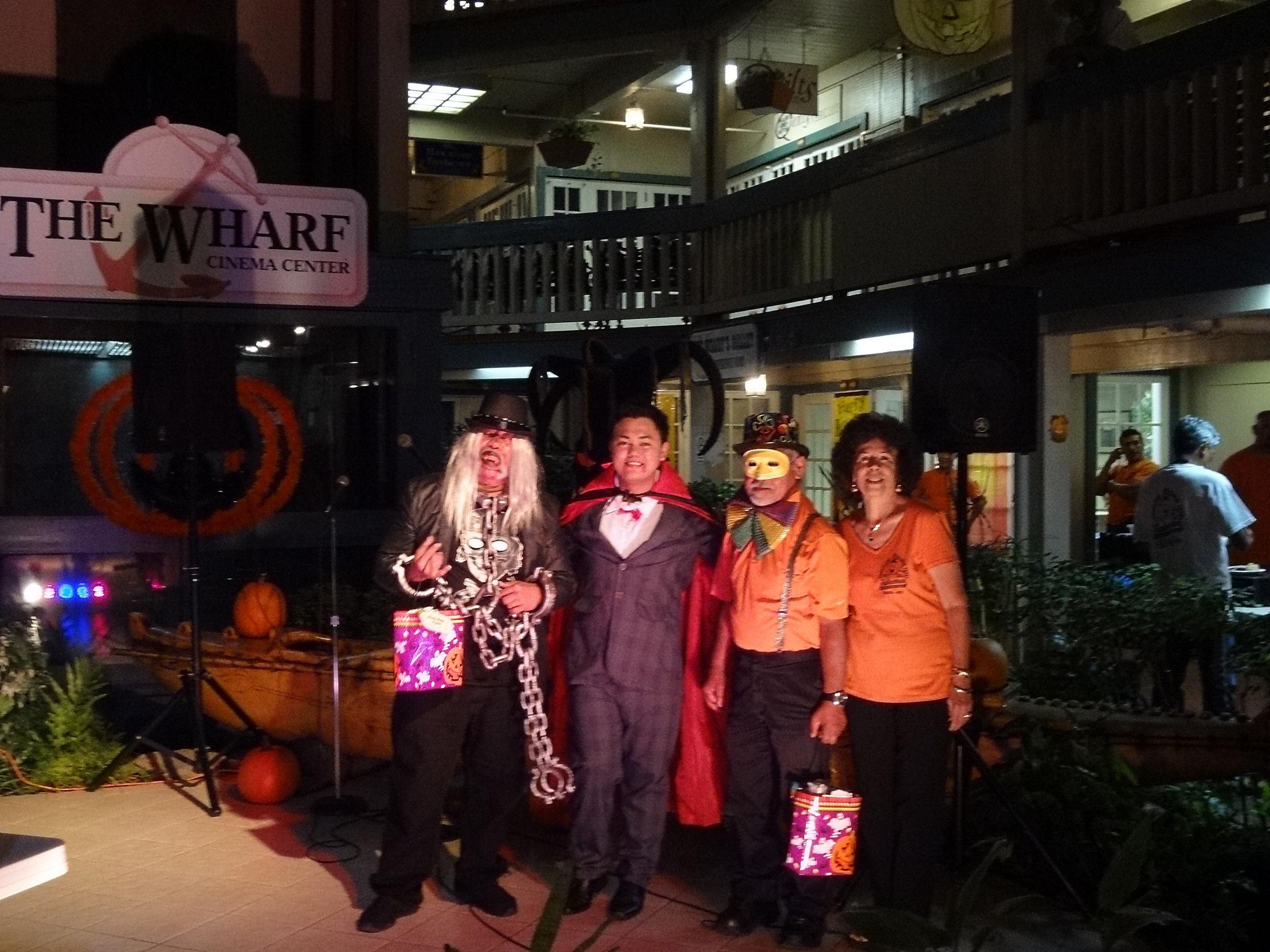 Halloween 2014 winners. The Wharf photo.