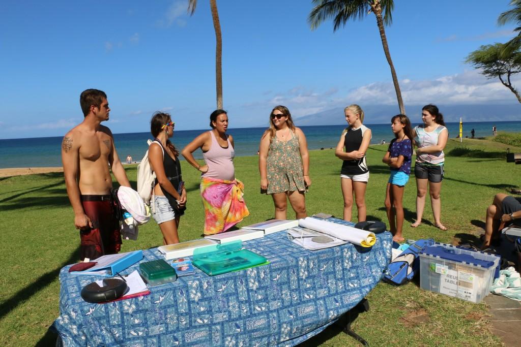 EOR Training, Kaheliki Beach Park, Maui. Photo credit: DLNR.