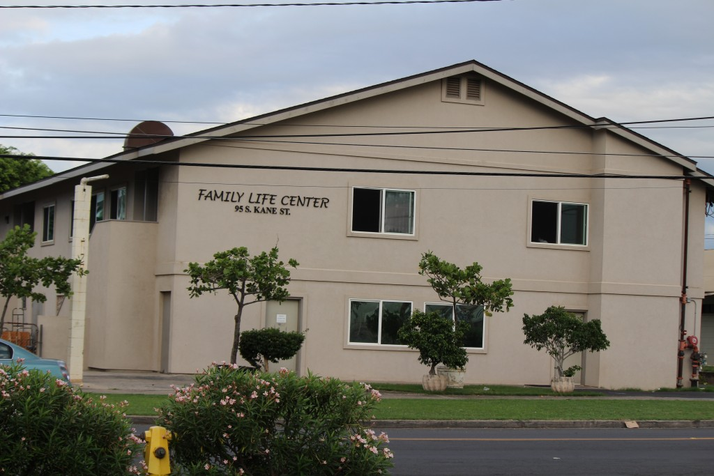 Family Life Center, Kahului. Photo by Wendy Osher.