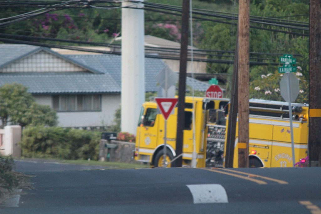 Wailuku House Fire - 10/29/15. Photo by Wendy Osher.