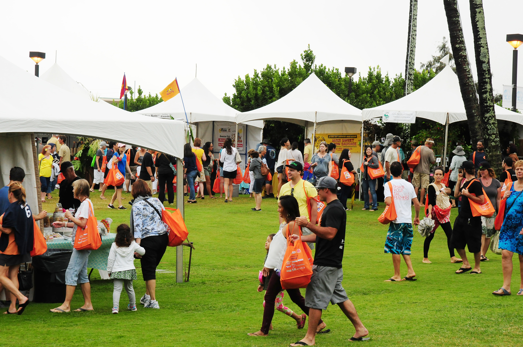 The inaugural Made in Maui County Festival in 2014 attracted thousands of visitors and residents for a full day of shopping, activities, food and fun. This year, the Festival's organizers anticipate the event will be bigger and better than ever. Maui County photo.