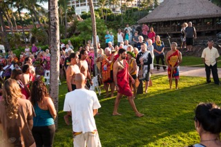 MNHCoC Business Fest protocols begin at dawn on Wailea Beach. Photo provided by the Maui Native Hawaiian Chamber of Commerce.