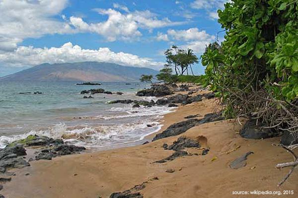 Kīhei beach photo from Wikipedia.
