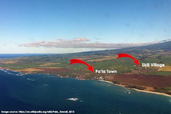 """Aerial image of the North Shore from Google Images for """"reuse with modification."""""""