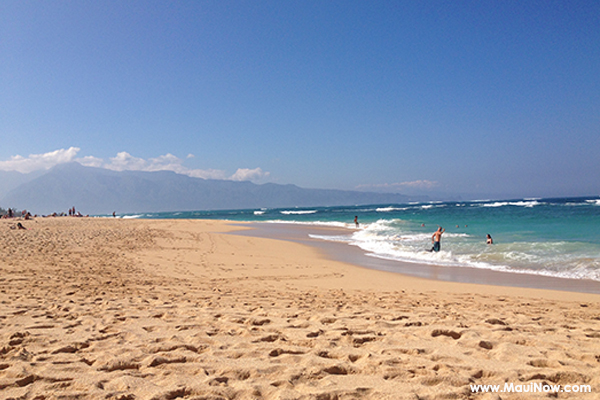 Maui Now photo of Baldwin Beach by Alexandra Mitchell.