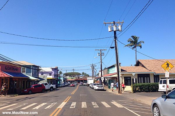 Maui Now photo of Paia by Alexandra Mitchell.