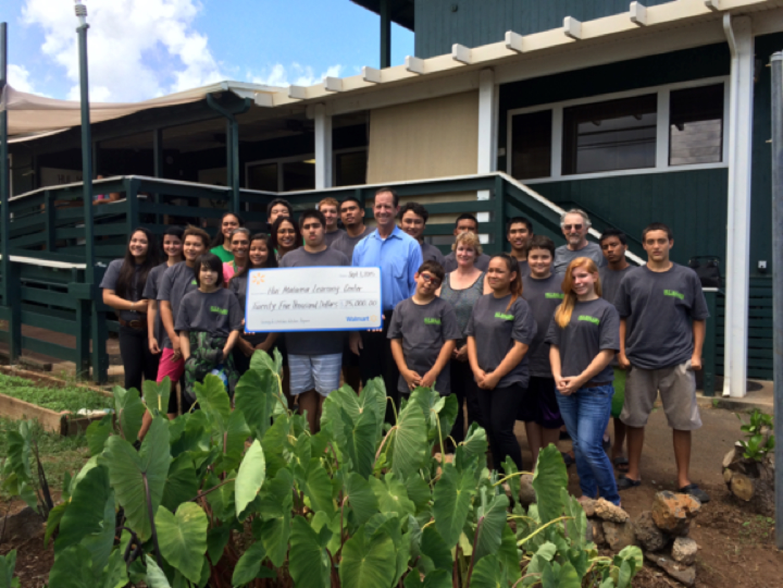 Maui Now : Hui Malama Learning Center Receives Walmart Grant