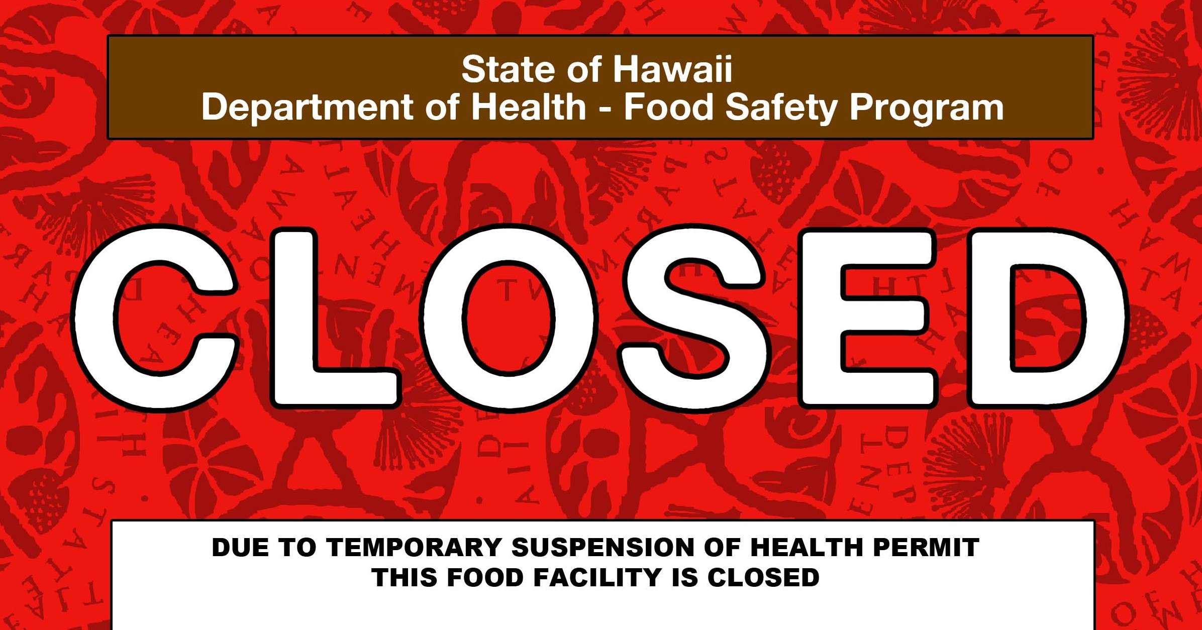 Health Department Says Red Cards at Maui Restaurants Part of Routine Inspections