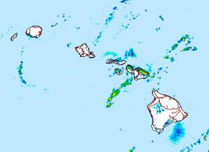Image: NWS radar at 8:00 p.m.