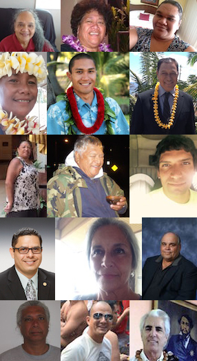 Maui delegate candidates. Photo credit: Naʻi Aupuni.