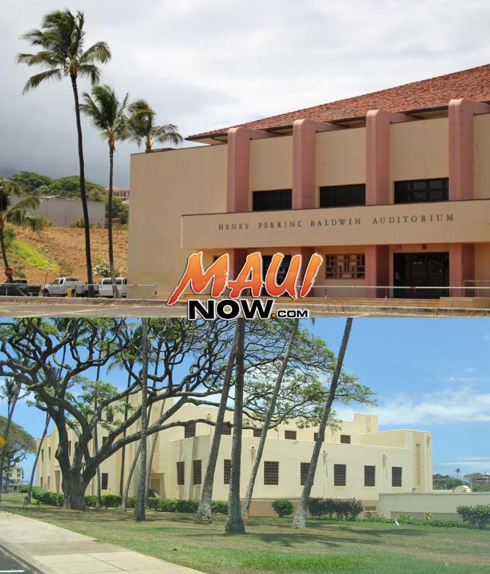 Baldwin High School (top) and ʻĪao Intermediate (bottom). Photos by Wendy Osher.