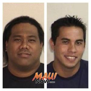 Damien K. Kaina Jr. (left) and Anthony Maldonado (right).