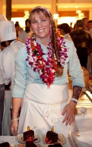 Pastry Chef Elizabeth McDonald, taking part in a prix-fixe menu series at Sangrita Grill + Cantina to benefit Imua Family Services. Photo courtesy of Sangrita Grill.