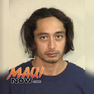 Joshua K. Detillion. Photo credit: Maui Police Department.