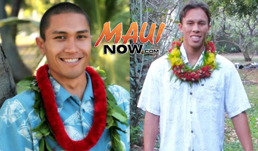 Kaniela Ing and ʻOlu Campbell. Photos credit: Naʻi Aupuni.
