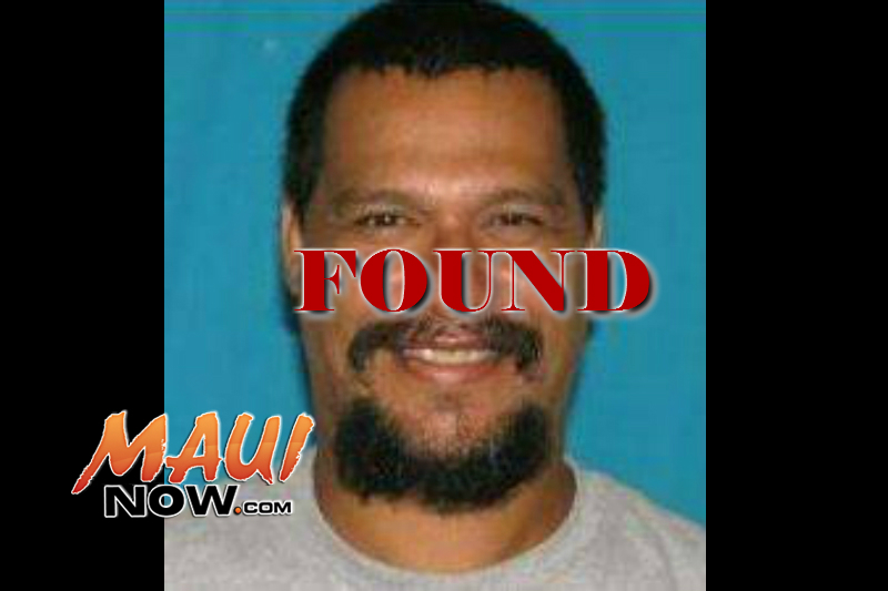 UPDATE: Charles Kahunanui has been located in good health.=