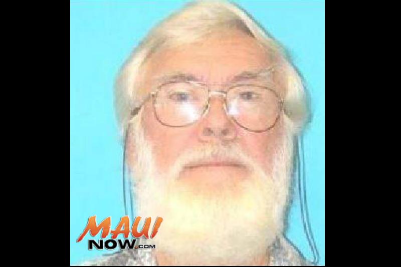 Thomas Warren Hansen. Photo credit Maui Police Department.