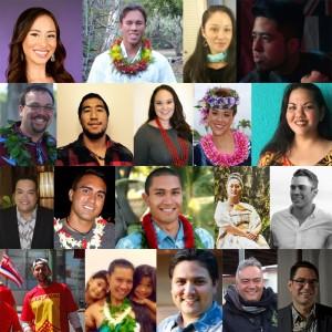 Nā Makalehua candidates. Photos credit Naʻi Aupuni.