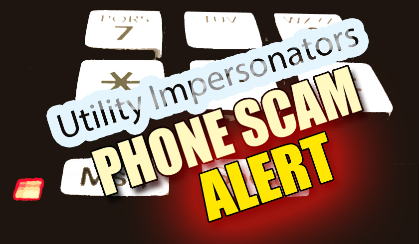 Phone Scam. Maui Now graphic.