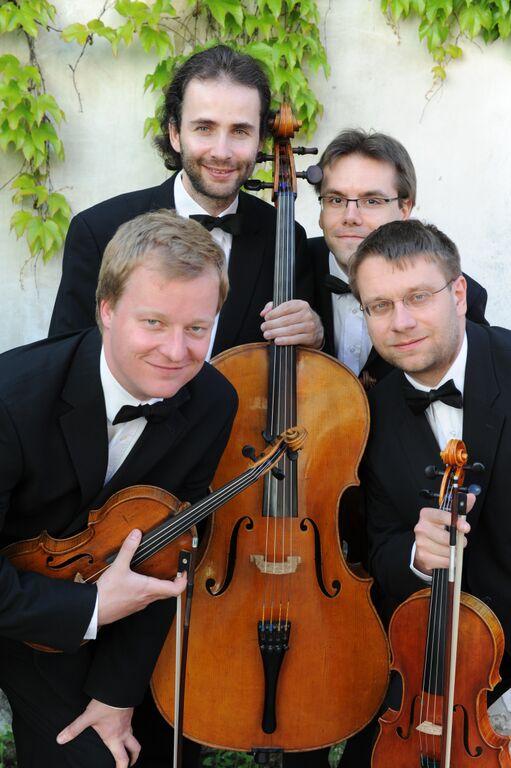 Zemlinsky Quartet. Photo provided by The MACC.