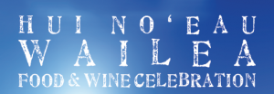 Hui No'eau Wailea Food and Wine Celebration will happen Nov. 14 at Hotel Wailea. Courtesy logo.