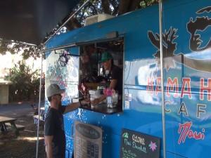 Kama Hele Cafe serves customers in Hali'imaile. Photo by Kiaora Bohlool.