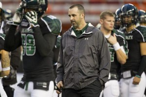 Nick Rolovich, 36, will be formally introduced as the new University of Hawaii head coach Monday at a campus press conference. AP File Photo.